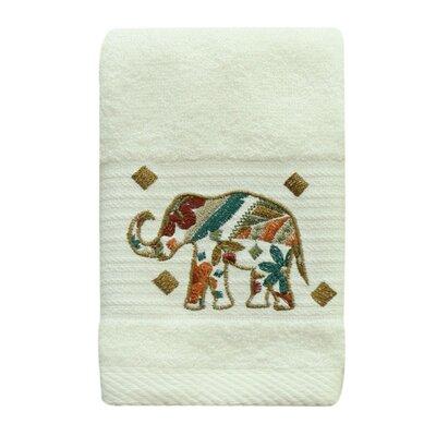 Cece Elephant 100% Cotton Fingertip Towel
