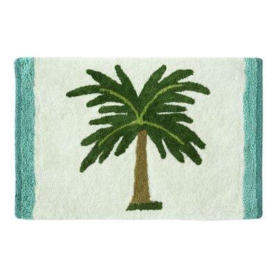 """Darien Palm Tree Bath Rug Size: 20"""" W x 30"""" L"""