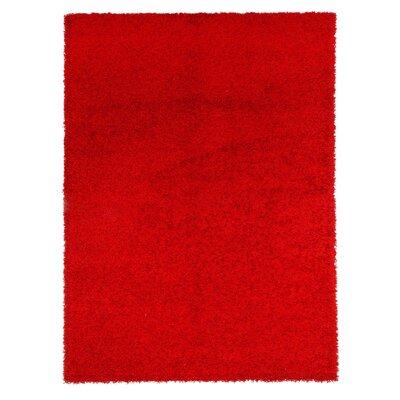 Caracella Teppich Shaggy Elegance in Rot