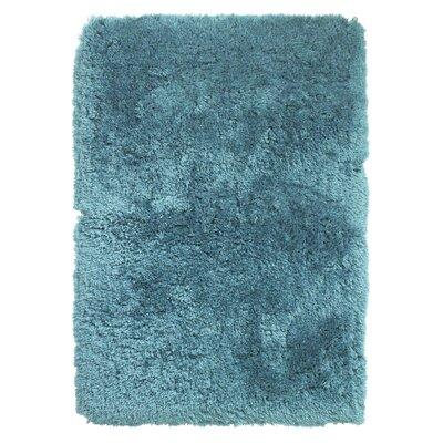 Caracella Handgefertigter Teppich Polar in Blau