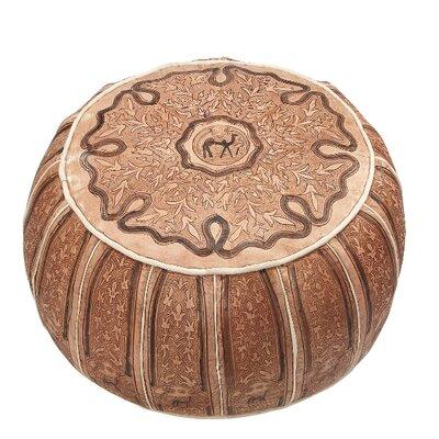 Caracella Pouf aus Leder
