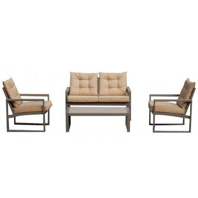 Caracella 4-tlg. Sofa-Set Monforte