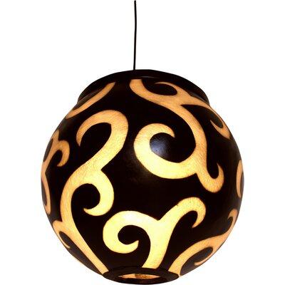 Caracella Kugel-Pendelleuchte 1-flammig Fibre Lights