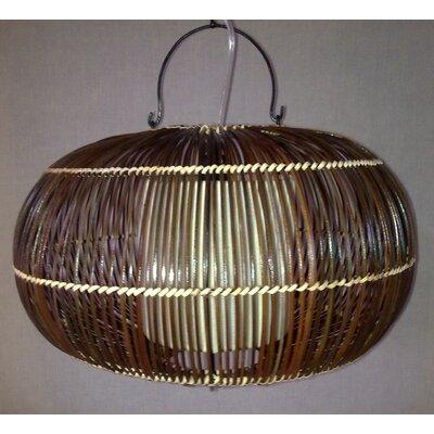 Caracella Geometrische Pendelleuchte 1-flammig Bamboo Lights