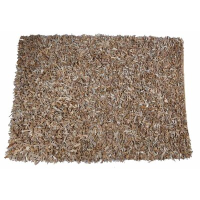 Caracella Handgefertigter Teppich Mut in Beige