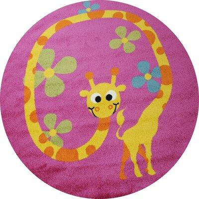 Caracella Kinderteppich Happy Friends in Pink