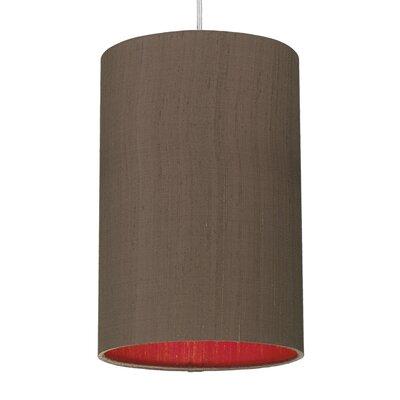 Caracella 20 cm Lampenschirm Cylinder aus Seide