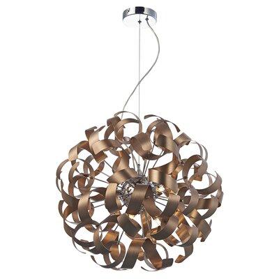 Caracella Design-Pendelleuchte 9-flammig Rawley