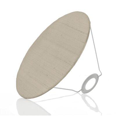 Caracella 29 cm Lampenschirm Baffle aus Seide