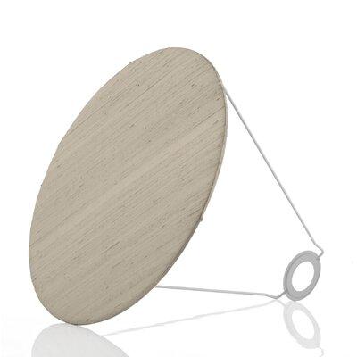 Caracella 32 cm Lampenschirm Baffle aus Seide