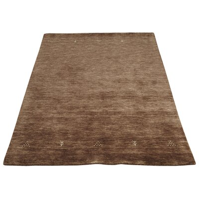 Caracella Handgearbeiteter Teppich Loriana in Schokolade