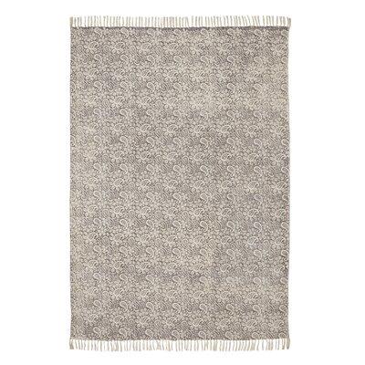 Caracella Teppich Murray in Grau/ Creme