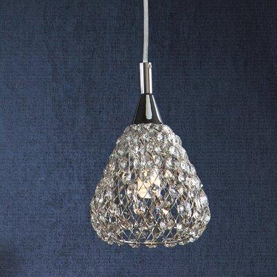 Caracella Kristall-Pendelleuchte 1-flammig Sira