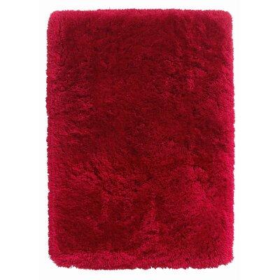 Caracella Handgefertigter Teppich Polar in Rot