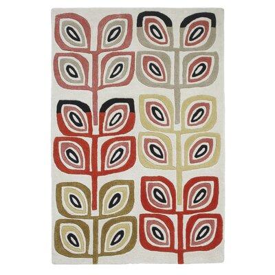 Caracella Handgetufteter Teppich Inaluxe Fabrique in Bunt