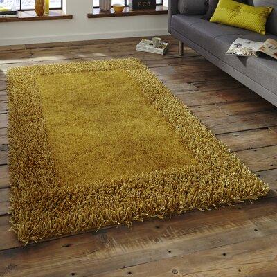 Caracella Handgetufteter Teppich Sable 2 in Gelb