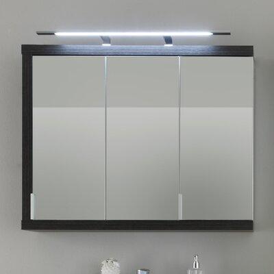 Caracella 90 cm x 72 cm Spiegelschrank