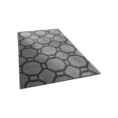 Caracella Handgetufteter Teppich Hong Kong 4338 in Grau