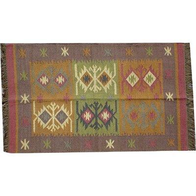 Caracella Handgewebter Teppich Hasumati in Bunt