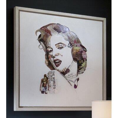 "Caracella Gerahmter Wandbild ""Marilyn"", Bilddruck"