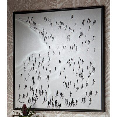 "Caracella Wandbild ""Playa Blanca"", Gemälde"