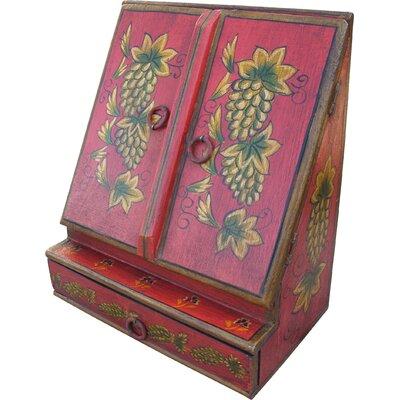 Caracella Brief-/ Schreibtischordner aus Holz Devi
