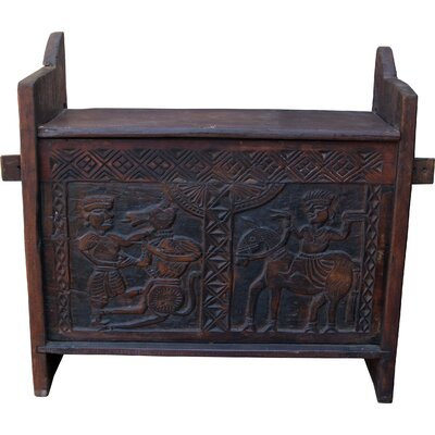 Caracella Truhe aus Holz Fulmala