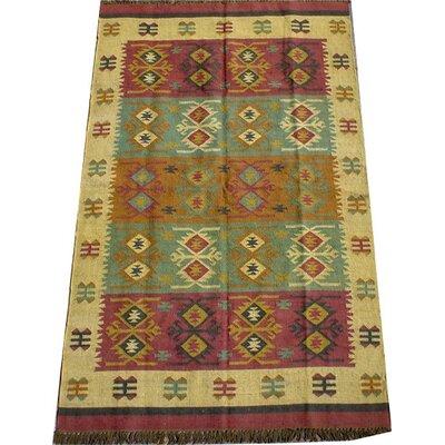 Caracella Handgewebter Teppich Iravati in Bunt