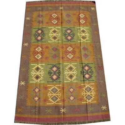 Caracella Handgewebter Teppich Isha in Bunt