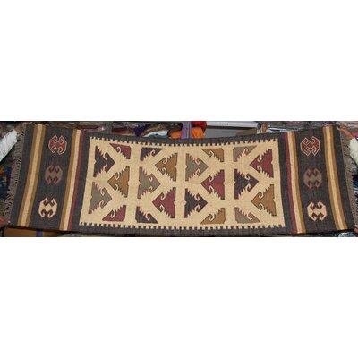 Caracella Handgewebter Teppich Indrayani in Bunt