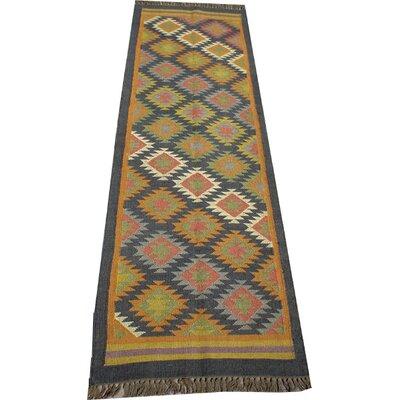 Caracella Handgewebter Teppich Jowaki in Bunt