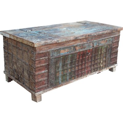 Caracella Holztruhe Naseenaus Holz