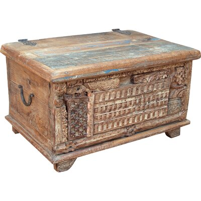 Caracella Holztruhe Nikhitaaus Holz