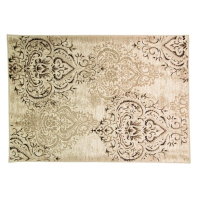 Caracella Teppich Graphic Kartusche in Beige