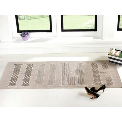 House Additions Apollo Flat woven Grey Area Rug