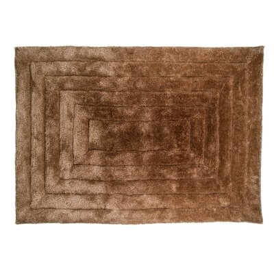 Caracella Handgefertigter Teppich Rand Ridge in Natur