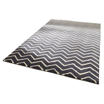Caracella Handgetufteter Teppich Spectrum in Grau