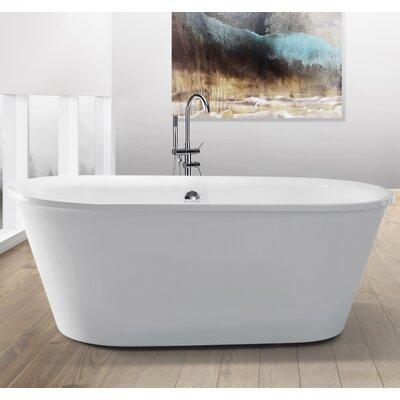 Home & Haus Barbados 170cm x 80cm Freestanding Soaking Bath Tub