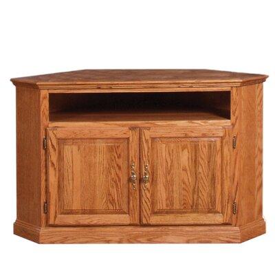 "Lunsford 63"" TV Stand Color: Honey Oak"