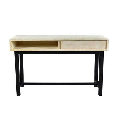 Dodson Console Table Color: Bleached/Black