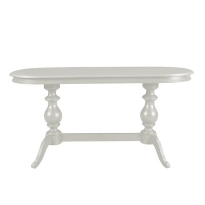 Pheasant Console Table Color: Gray
