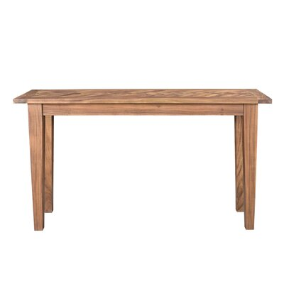Ardie Console Table Color: Natural
