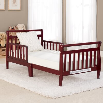 Big Oshi Toddler Bed Color: Cherry