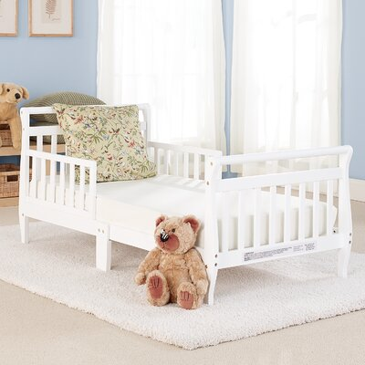 Big Oshi Toddler Bed Color: White