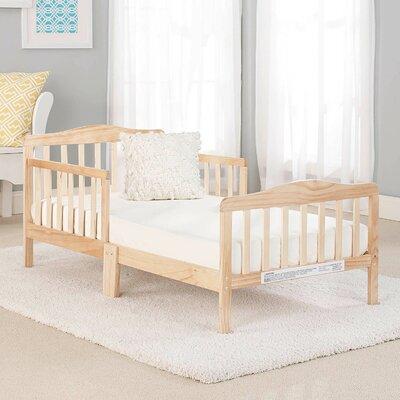 Big Oshi Convertible Toddler Bed Color: Natural
