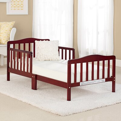 Big Oshi Convertible Toddler Bed Color: Cherry