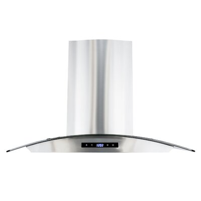 "30"" 760 CFM Ductless Wall Mount Range Hood"
