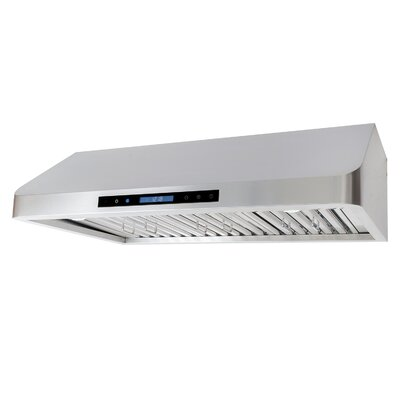 "36"" 900 CFM Ducted Under Cabinet Range Hood"
