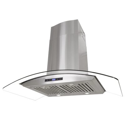 "36"" 760 CFM Convertible Wall Mount Range Hood"