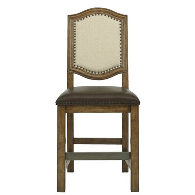 Gilcrest Cross Gathering Dining Table with Side Chair